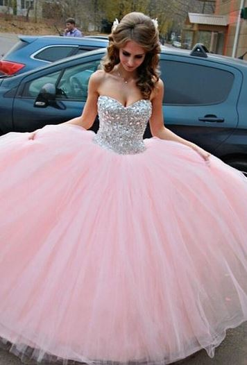 Marvelous Tulle Ball Gown Sweetheart Floor-length Sleeveless Wedding Dresses