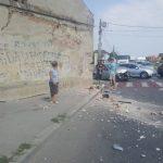 Încă un accident grav pe Strada Râului – Craiova